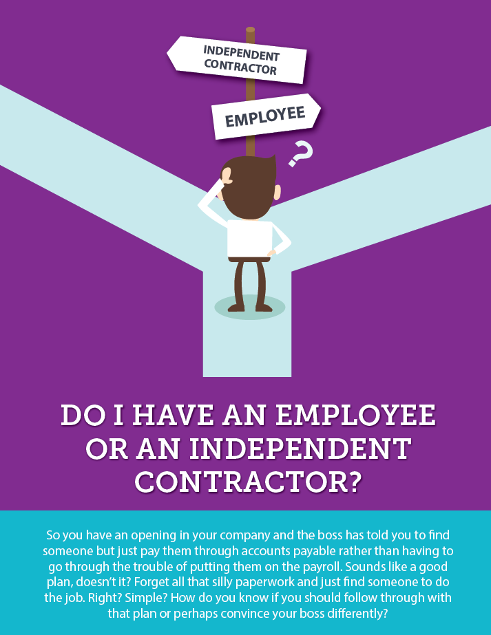 Employee or Independent Contractor ?