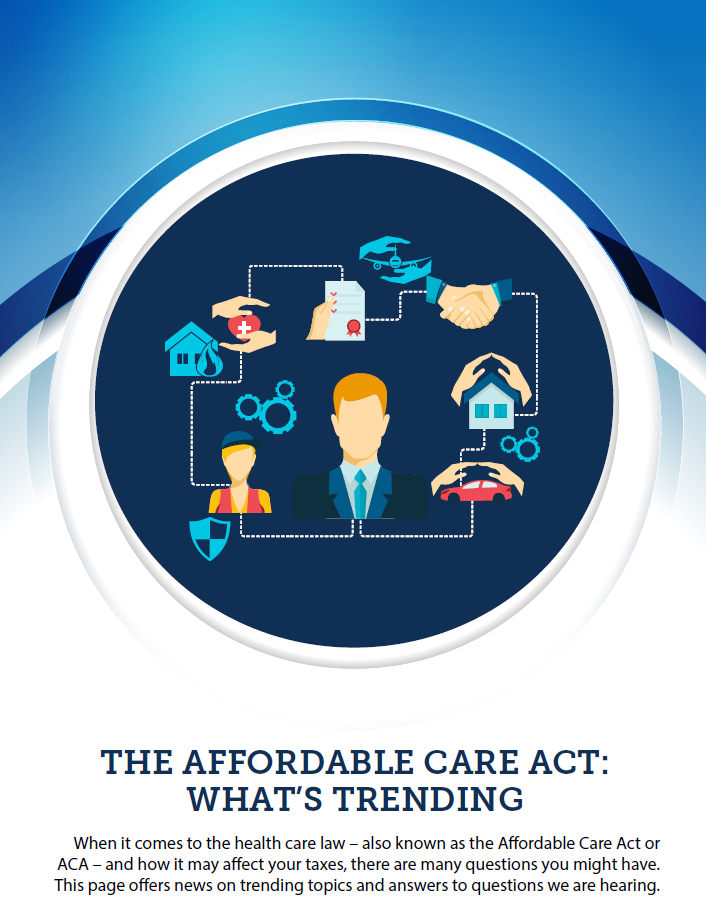The Affordable Care Act – What is Trending