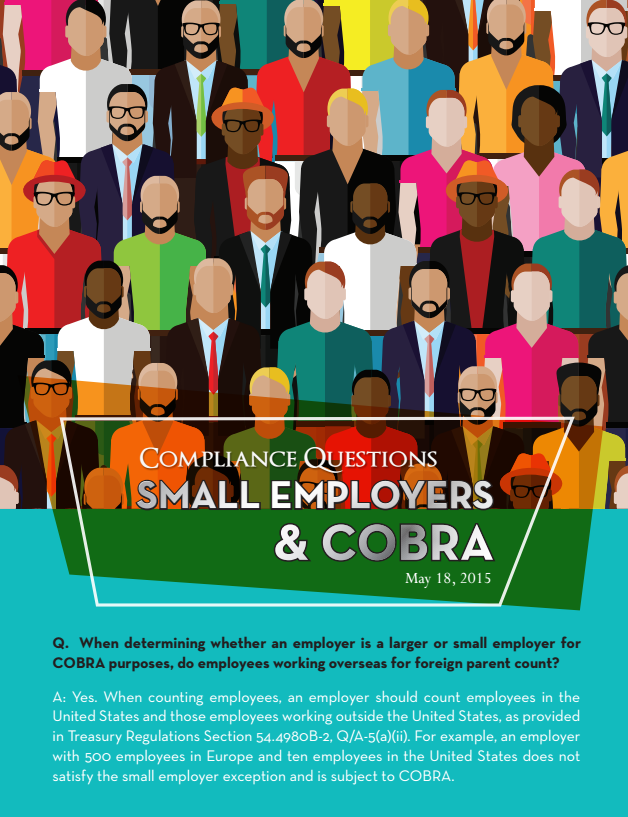 Compliance Questions – Small Employers & COBRA