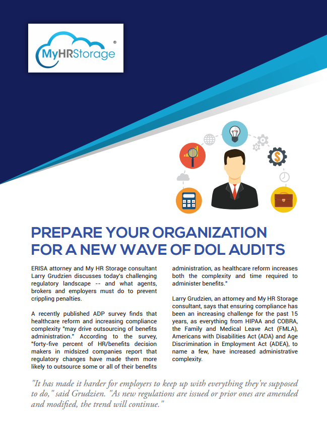 Prepare your organization for a new wave of DOL Audits
