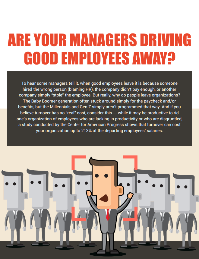 Are Your Managers Driving Good Employees Away?