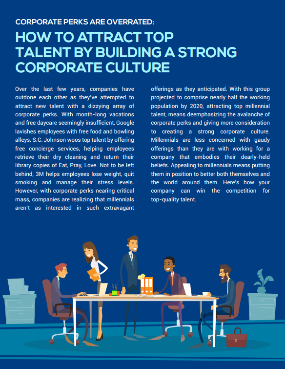How to Attract Top Talent by Building a Strong Corporate Culture